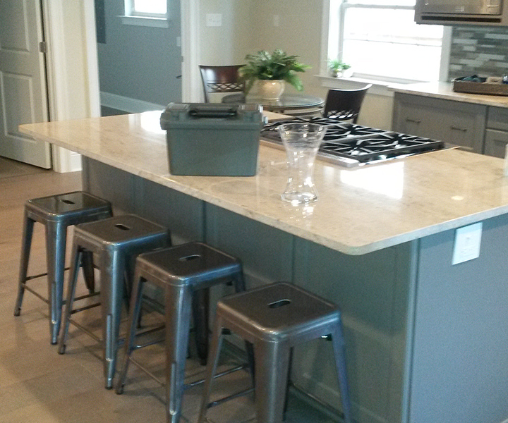 kitchen island construction crescent crown construction a new orleans based 13435